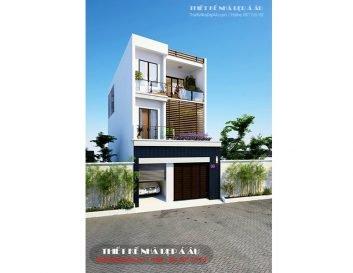 Xu hướng thiết kế những căn nhà phố mặt tiền 6m