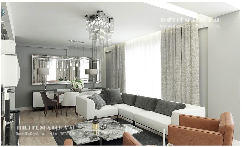 Cách trang trí phòng khách của căn chung cư hiện đại