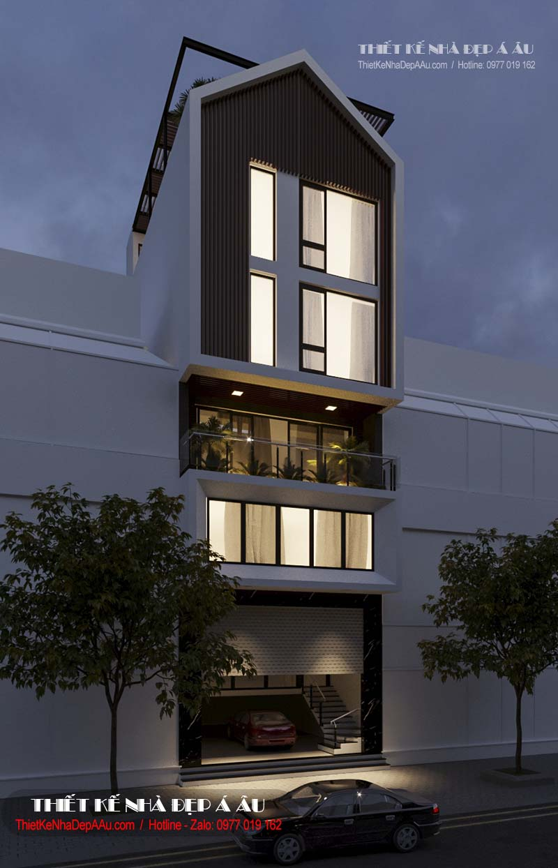 Xu hướng thiết kế nhà phố theo phong cách hiện đại