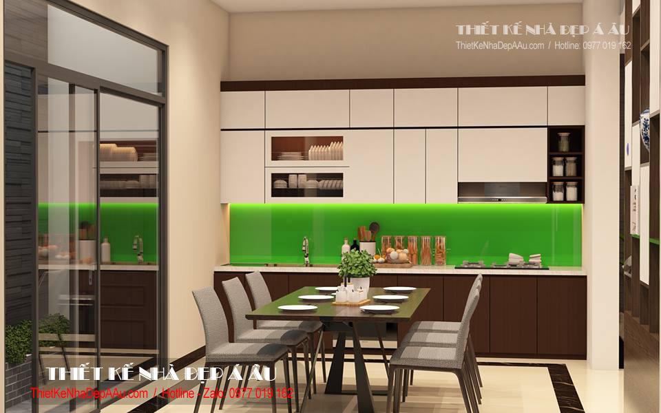 bếp và phòng ăn hiện đại