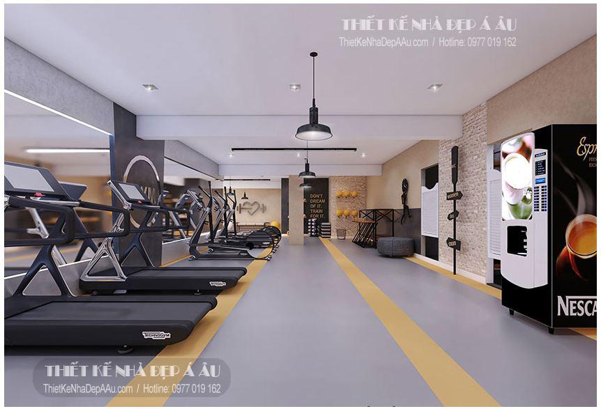 Thiết kế phòng tập gym chuyên nghiệp