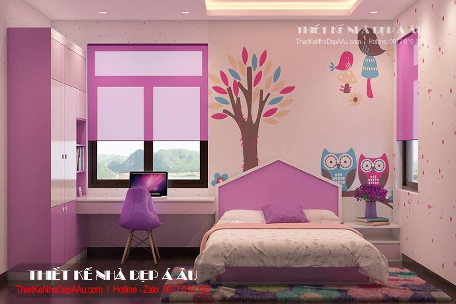 Trang trí phòng ngủ cho trẻ