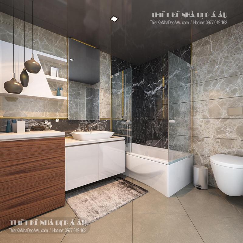 hình ảnh phòng tắm hiện đại