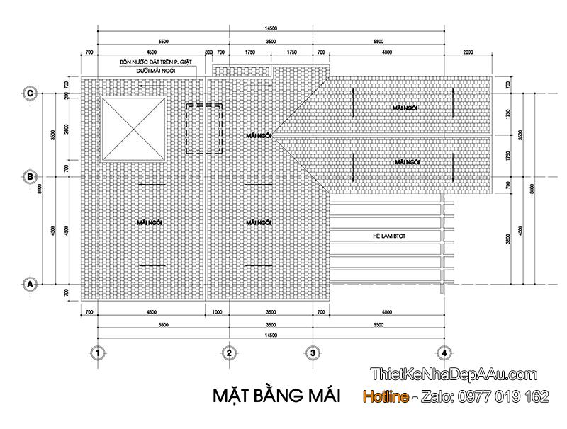 Mat bang tang mai
