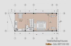 Biệt thự phố 3 tầng mặt tiền 5m
