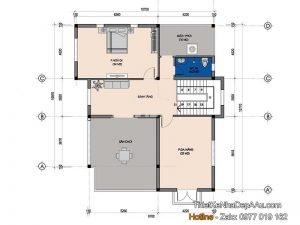 Lên kế hoạch thiết kế mặt bằng tầng 3