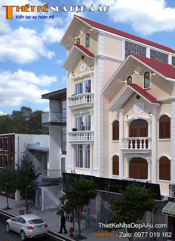 Xu hướng thiết kế nhà phố theo phong cách tân cổ điển