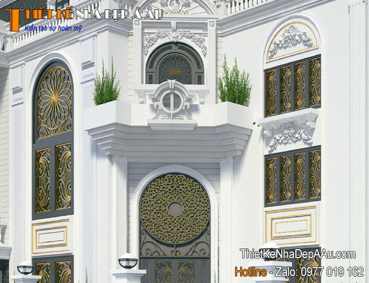 Thiết kế biệt thự phong cách tân cổ điển sang trọng