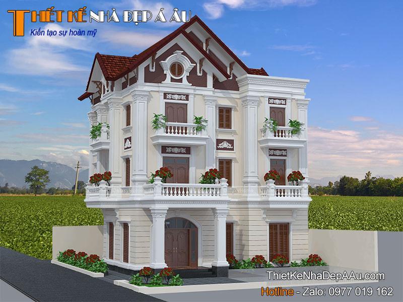 Nhà 3 tầng mặt tiền 11m