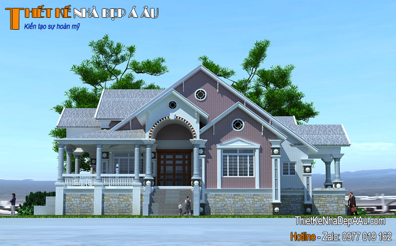 Ngôi nhà hòa vào không gian tôn nên vẻ đẹp cho căn nhà