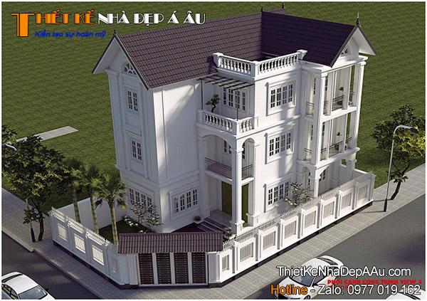 Tư vấn thiết kế mẫu biệt thự 3 tầng đẹp
