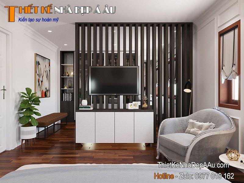 thiết kế nội thất phòng ngủ Master