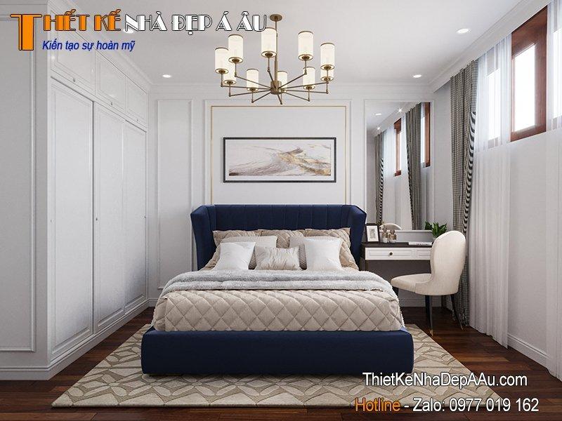 trang trí phòng ngủ hiện đại nhiều ánh sáng
