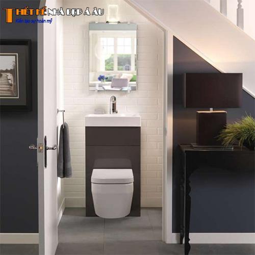 Thiết kế nhà vệ sinh đơn giản hiện đại