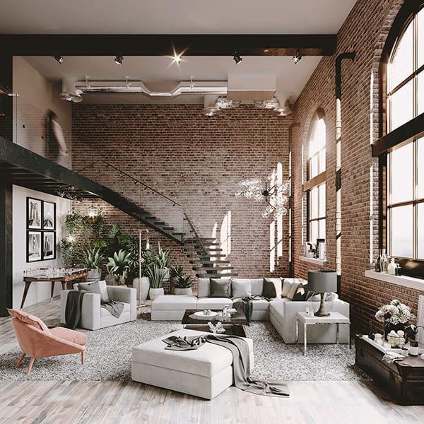 Những bộ ghế sofa hiện đại màu sắc mang tone màu lạnh