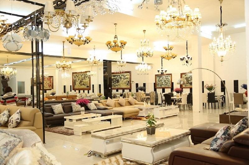 showroom nội thất tân cổ điển