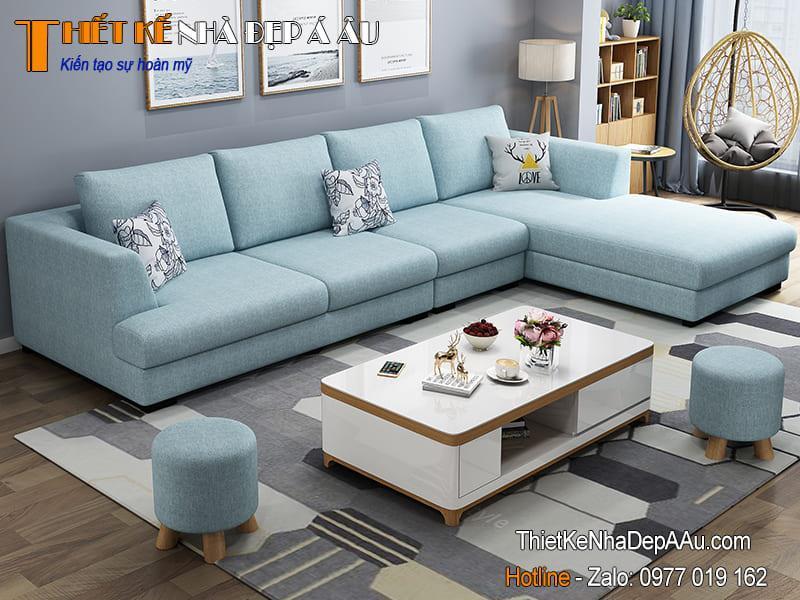 sofa vang hien dai