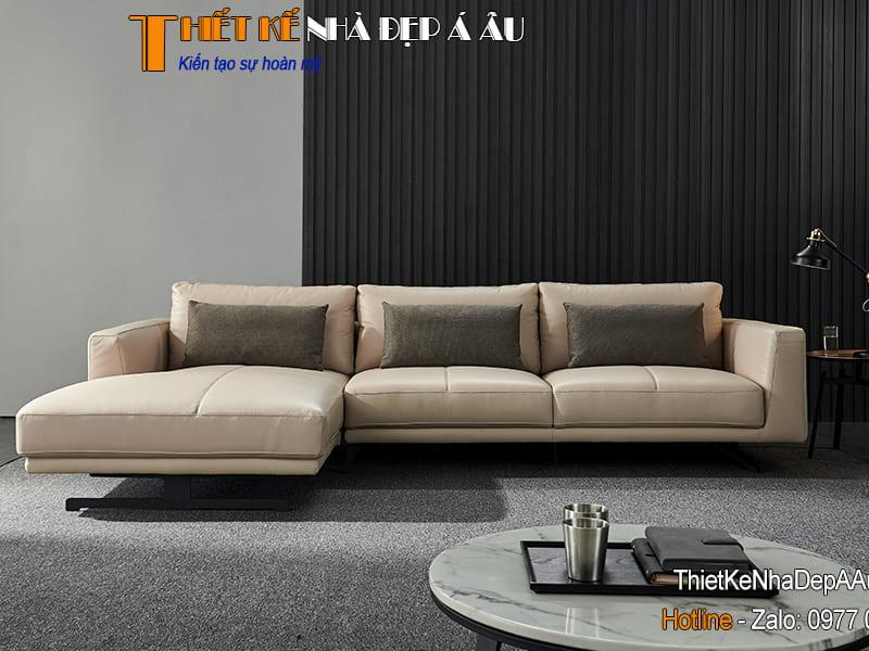 sofa chữ L có kích thước lớn