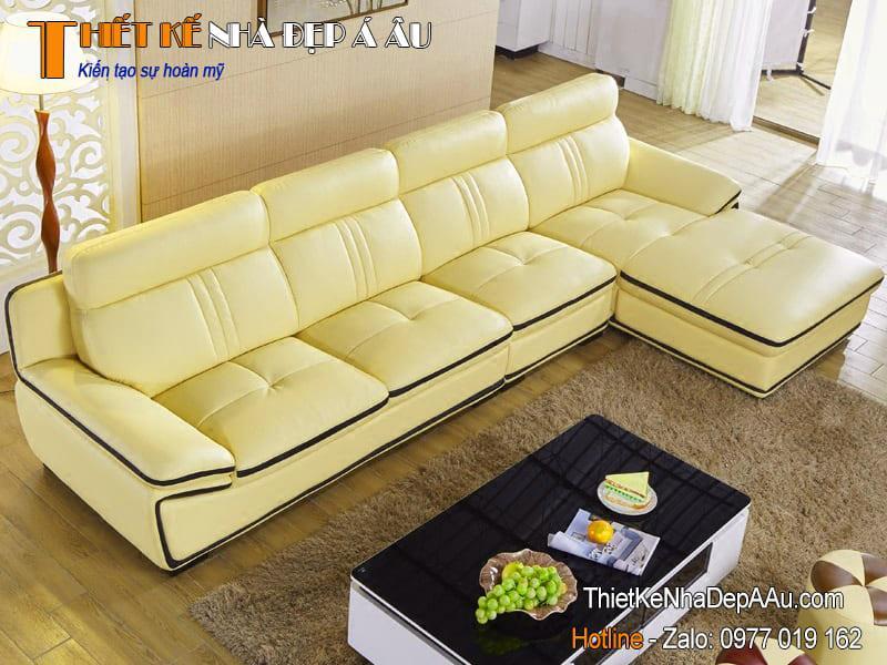 sofa bọc da đẹp