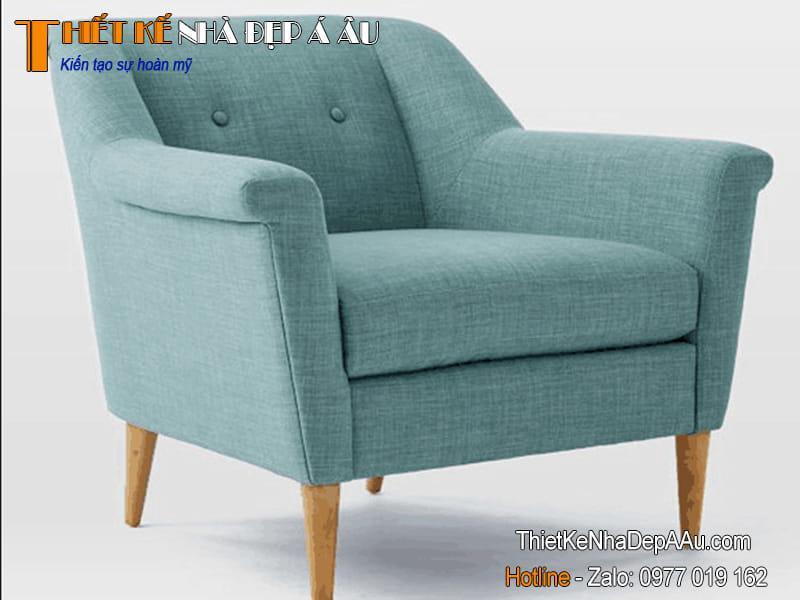 Mẫu sofa đơn đẹp hiện đại