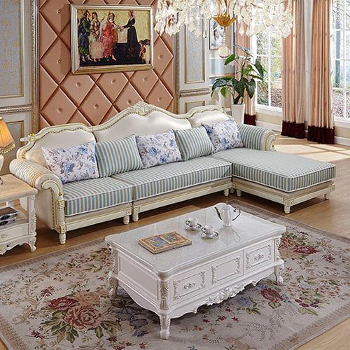 nội thất sofa tân cổ điển mẫu 2