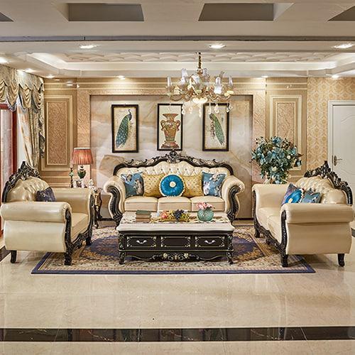 nội thất sofa tân cổ điển mẫu 3