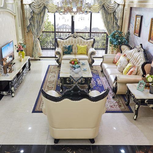 nội thất sofa tân cổ điển mẫu 4