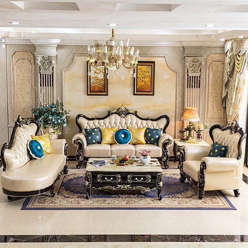 nội thất sofa tân cổ điển mẫu 5