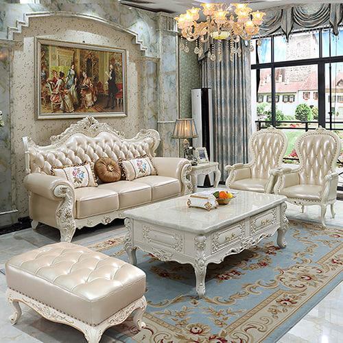 nội thất sofa tân cổ điển mẫu 1