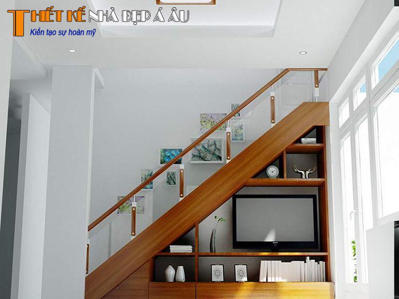 trang trí gầm cầu thang đẹp