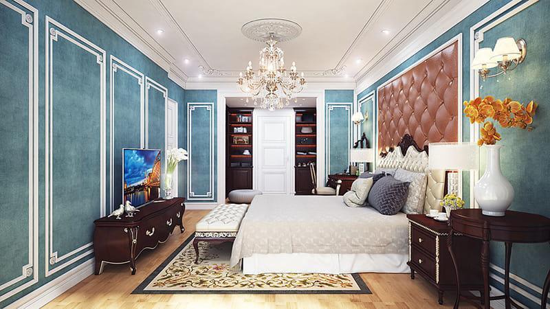 Sự phá cách trong việc trang trí nội thất phòng ngủ