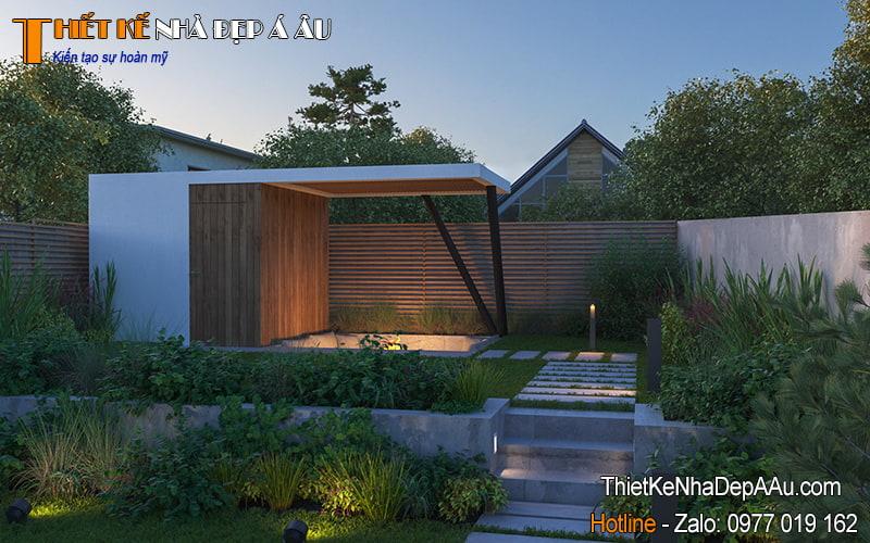 cây xnah được trồng quanh nhà