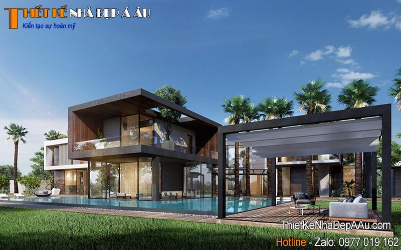 thiết kế biệt thự nghỉ dưỡng