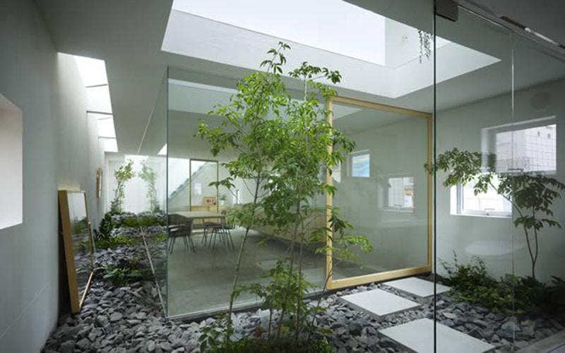 Trnag trí nội thất theo phong cách hiện đại không gian mở
