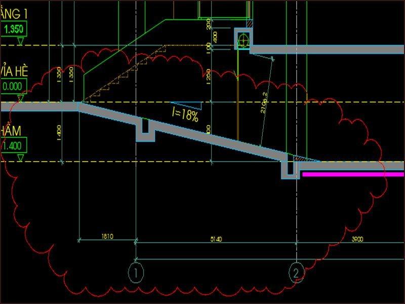 Tiêu chuẩn kỹ thuật xây tầng hầm nhà phố