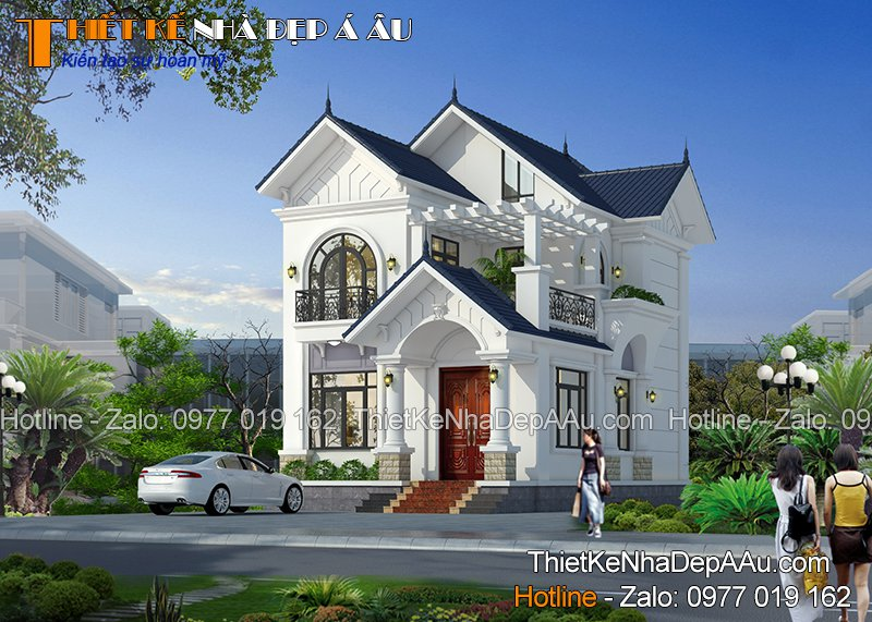 công trình nhà đẹp xây dựng ở nam định