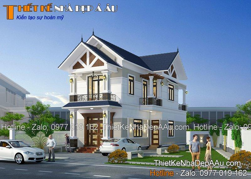 Thiết kế nhà phố đẹp mặt tiền 6m