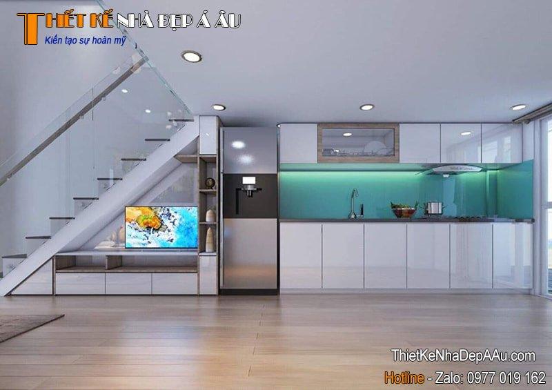 Trang trí không gian bếp hiện đại