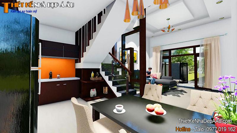 nội thất phòng bếp nhỏ xinh