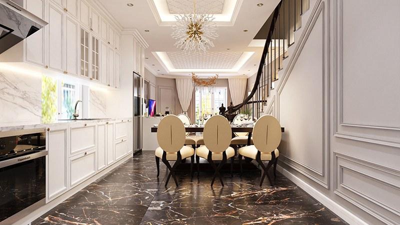 Không gian nội thất nhà phố đẹp