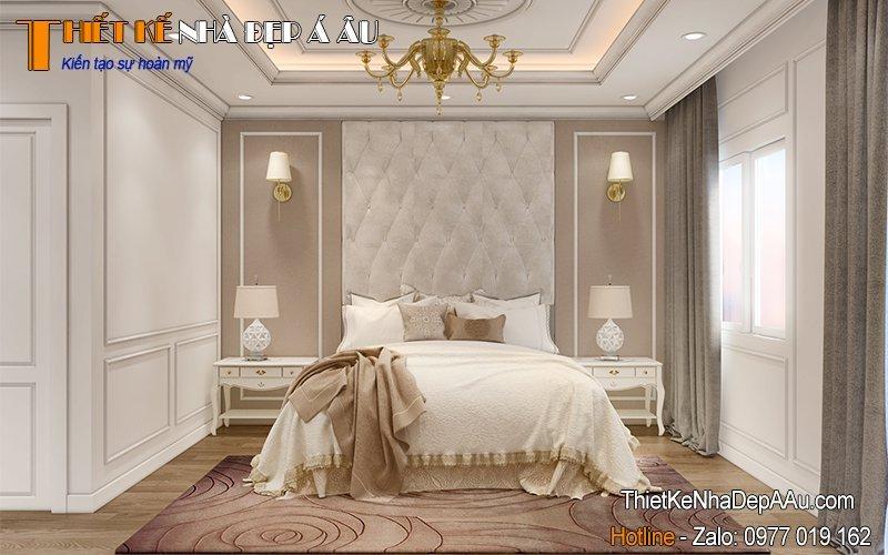 Nội thất phòng ngủ nhà phố 2 tầng