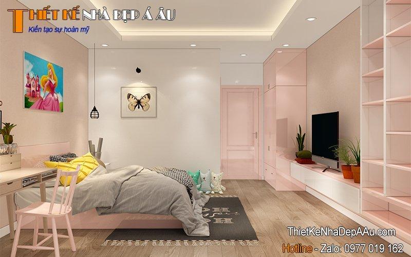 Phòng ngủ nhỏ xinh nhiều ánh sáng