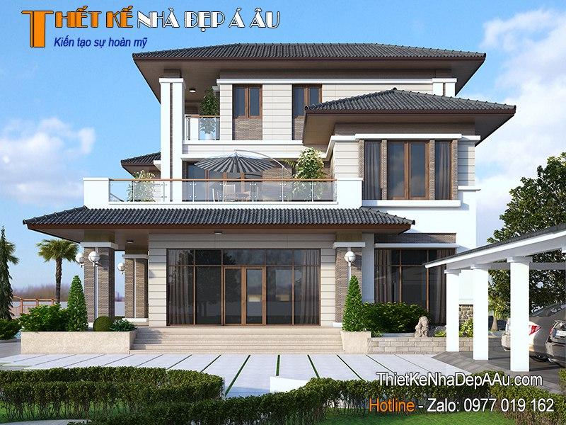 Mẫu thiết kế nhà vườn hiện đại