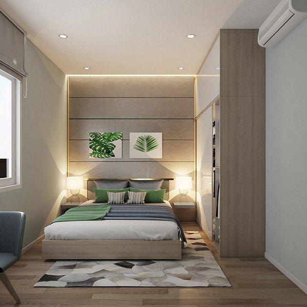 phòng ngủ nhỏ xinh