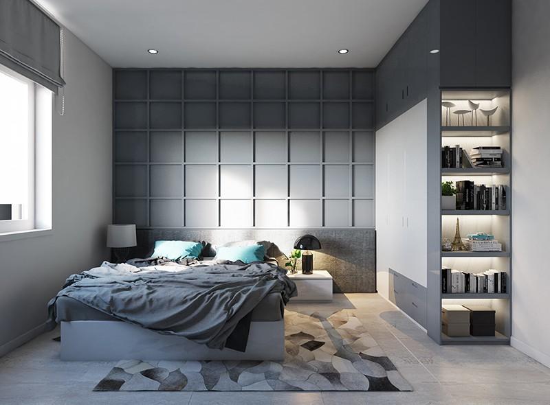 Trang trí phòng ngủ nhà phố