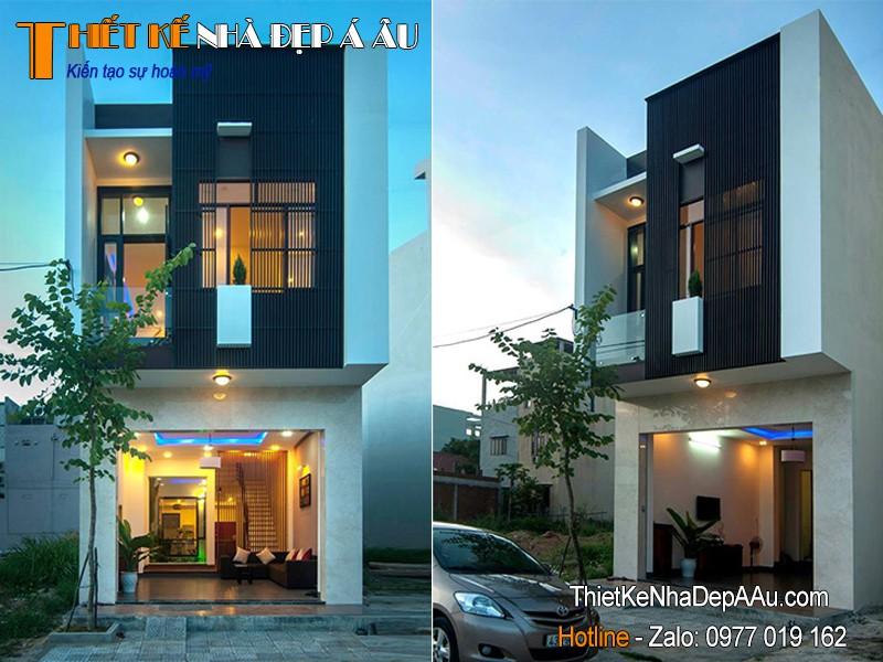 Nhà 2 tầng 5x15m