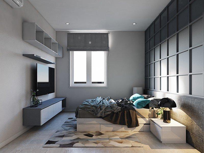 Trang trí nội thất nhà phố 2 tầng