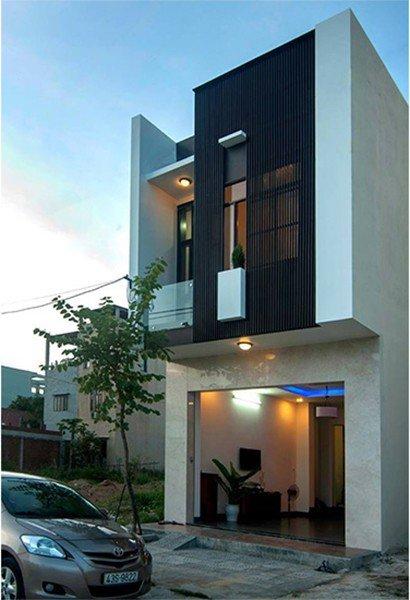 Mẫu nhà 2 tầng 5x15m hiện đại