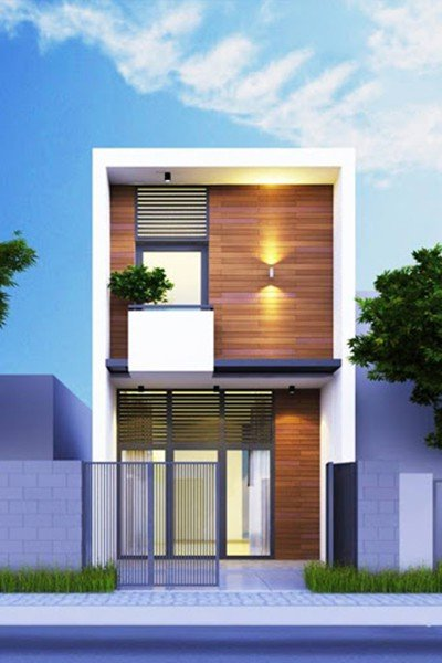 nhà 2 tầng 3 phòng ngủ 5x20m