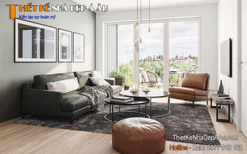 Phong cách trang trí nội thất Scandinavian Country Interior Design